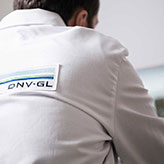 Man with DNV GL